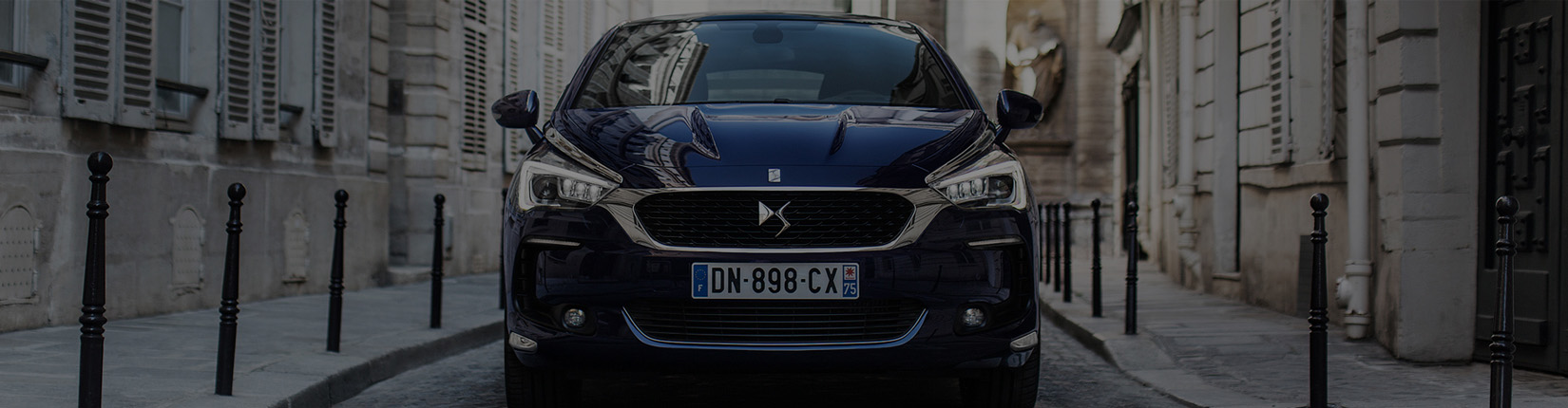 DS5 Front Imaage - DS Automobiles UK