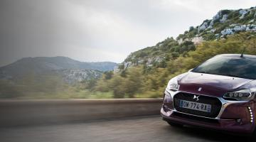 DS 3 Cabrio front view - DS Automobiles UK
